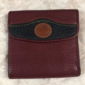 DOONEY & BOURKE Vintage Coin Card Case Wallet